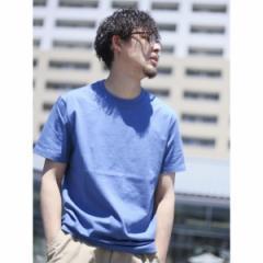 ジョルダーノ(メンズ)(GIORDANO)/【S〜2Lまで】Uネック半袖TEE