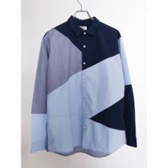 ウィゴー(メンズ)(WEGO)/ウィゴー(WEGO/イージーケアパッチワークシャツ)
