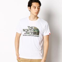 ザ・ノース・フェイス(THE NORTH FACE)/【THE NORTH FACE】カモロゴTシャツ(メンズ ショートスリーブカモフラージュロゴ)