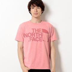 ザ・ノース・フェイス(THE NORTH FACE)/【THE NORTH FACE】半袖Tシャツ(メンズ ショートスリーブカラーヘザーロゴティー)