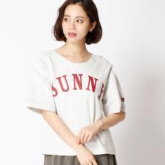 二コルホワイト(NICOLE white)/アーチロゴTシャツ