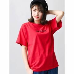 ウィゴー(レディース)(WEGO)/ウィゴー(WEGO/シンプルロゴTシャツ)