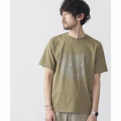 ナノ・ユニバース(メンズ)(nano universe)/【2017SS】yeq.KUMA箔プリントTシャツ