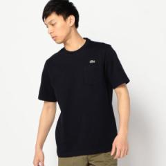 """シップス(メンズ)(SHIPS)/LACOSTE: """"TH219E"""" ヘビー カノコ ポケット Tシャツ"""