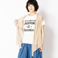 二コルホワイト(NICOLE white)/ニットジレ&ロゴTシャツセット