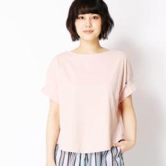 二コルホワイト(NICOLE white)/袖タックTシャツ