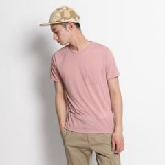 ザ ショップ ティーケー(メンズ)(THE SHOP TK Mens)/ポケットつきベーシックTシャツ