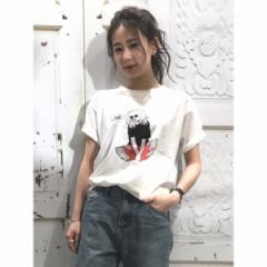 ウィゴー(レディース)(WEGO)/ウィゴー(WEGO/ガールプリントTシャツ)