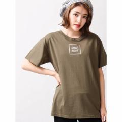 ウィゴー(レディース)(WEGO)/ウィゴー(WEGO/メタリックロゴプリントTシャツ)