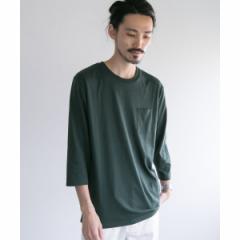 アーバンリサーチ(メンズ)(URBAN RESEARCH)/メンズTシャツ(カラーパレット7分袖ポケットTシャツ)