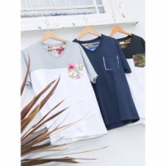ウィゴー(メンズ)(WEGO)/ウィゴー(WEGO/VネックポケットTシャツ)