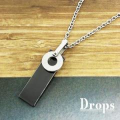 ドロップス(Drops)/ローマ数字プレートネックレス