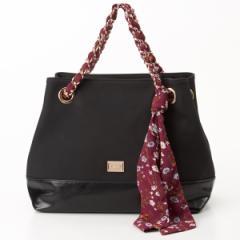 ビバユー(バッグ&ウォレット)(VIVAYOU)/スカーフを通したチェーンがキュートな2wayバッグ