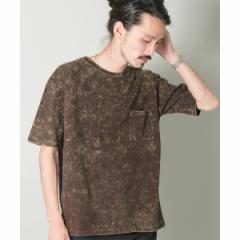 アーバンリサーチ(メンズ)(URBAN RESEARCH)/メンズTシャツ(ケミカルブリーチTシャツ)