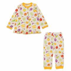 F.O.オンラインストア(F.O.Online Store)/女の子野菜フルーツ柄長袖前開きパジャマ