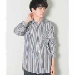 アーバンリサーチ(メンズ)(URBAN RESEARCH)/メンズシャツ(ストライプオーバーレギュラーシャツ)