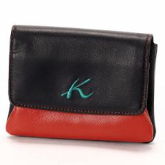 キタムラK2(Kitamura K2)/ソフト牛革かぶせ口金財布