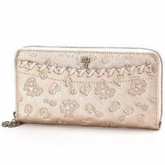 アナスイ(ANNA SUI)/ダリア ラウンド長財布(カード収納 22カ所でとっても便利)