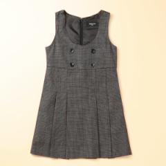 コムサイズムキッズ(COMME CA ISM)/グレンチェックジャンパースカート(110〜130cm)