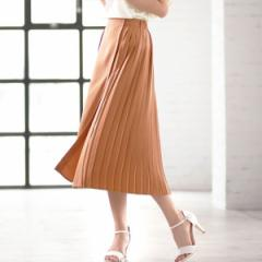 ジーラ バイ リュリュ(ファッション)(GeeRA by RyuRyu)/【WEB限定】プリーツ切替ラップスカート