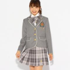 ピンク ラテ(PINK latte)/【卒服】リボンタイ付きプリーツスカート