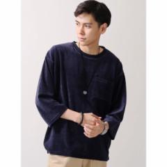 ウィゴー(メンズ)(WEGO)/ウィゴー(WEGO/ベロアポケットルーズTシャツ)