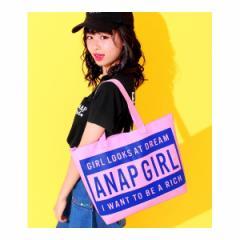 アナップキッズ&ガール(ANAP KIDS&GIRL)/ボックスロゴトートバッグ