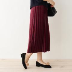 グローブ(grove)/【WEB限定あり】クラッシュベロアプリーツスカート