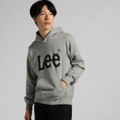ライトオン(メンズ)(Right−on)/【LEE】ロゴスウェットプルパーカー メンズ