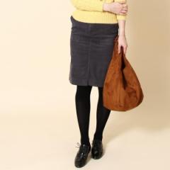 コーエン(レディース)(coen)/ベロアストレッチタイトスカート