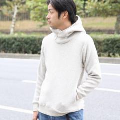 コーエン(メンズ)(coen)/【WEB限定】フリースボリュームネックパーカー