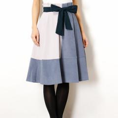 セシルマクビー(CECIL McBEE)/バイカラーハイウエストスカート