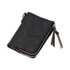 デバイス(DEVICE)/【DEVICE/デバイス】2つ折りフェイクレザー財布