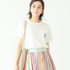 ビームス ボーイ(BEAMS BOY)/【WEB限定】BEAMS BOY / BBロゴ ポケット付 ショートスリーブ Tシャツ