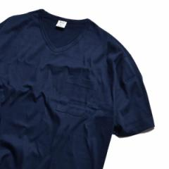 シップス ジェットブルー(SHIPS JET BLUE)/GICIPI×SHIPS JET BLUE: 別注 VネックポケットTシャツ