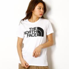 ザ・ノース・フェイス(THE NORTH FACE)/【THE NORTH FACE】Tシャツ(レディース ショートスリーブシンプルロゴティー)