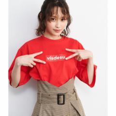 ビス(ViS)/【ViS×高橋愛】VISDESUロゴTシャツ