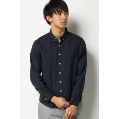 イッカ メンズ(ikka)/ドビー小紋ボタンダウンシャツ