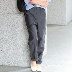 ビューティ&ユース ユナイテッドアローズ レディス(BEAUTY&YOUTH)/【WEB限定】by ※バックサテンベイカーテーパードパンツ