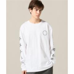 417エディフィス(417 EDIFICE)/メンズTシャツ(ソデプリント ロングスリーブ TEE)