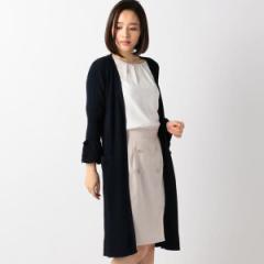 【NEW】ミッシュ・マッシュ(MISCH MASCH)/カットワーク刺繍ロングカーデ