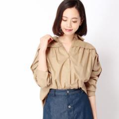 二コルホワイト(NICOLE white)/ビッグシルエットシャツ