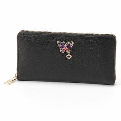 アナスイ(ANNA SUI)/グラマラス ラウンドファスナー長財布(カード入れ22ヶ所でとっても便利)