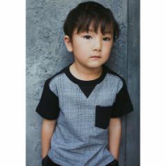 ザ ショップ ティーケー(キッズ)(THE SHOP TK Kids)/【150cmまで】フロント切り替えTシャツ