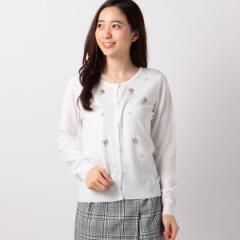 【NEW】ミューズ リファインド クローズ(MEW'S REFINED CLOTHES)/ビジュー装飾カーディガン