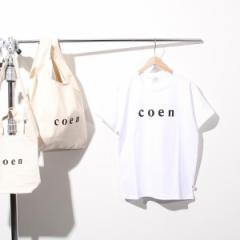 コーエン(レディース)(coen)/【新色登場・WOMENS】coen(コーエン)ロゴTシャツ