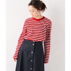 スローブイエナ(SLOBE IENA)/レディスカットソー(MAISON KITSUNE MARINE TRIFOX PATCH Tシャツ)