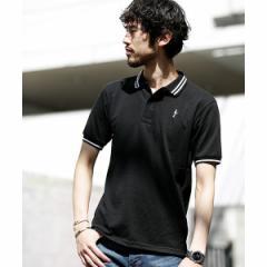 ナノ・ユニバース(メンズ)(nano universe)/【WEB限定】∴ラインカラー刺繍ポロシャツSS