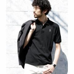 ナノ・ユニバース(メンズ)(nano universe)/【WEB限定】∴ソリッドカラー刺繍ポロシャツSS