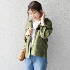 カージュ(Khaju)/Khaju:ミリタリーシャツジャケット